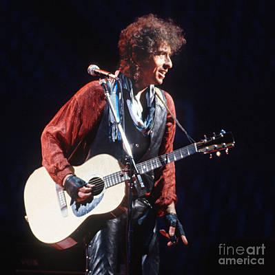 Bob Dylan Photograph - Bob Dylan 1986 Buffalo by Chuck Spang