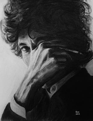Bob Dylan Drawing - Bob Dylan by Kira Rubtsova