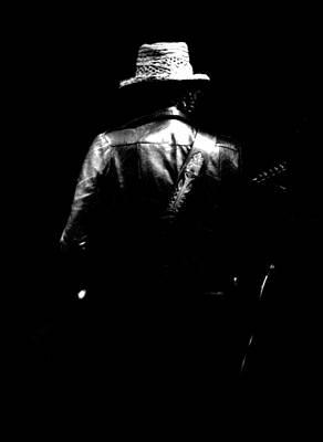 Bob Dylan Photograph - Bob Dylan Looking Back  by Nancy Clendaniel