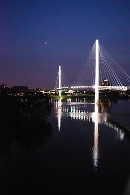 Joy Dinardo Bradley Dinardo Designs Photograph - Bob Kerry Pedestrian Bridge by Joy Bradley