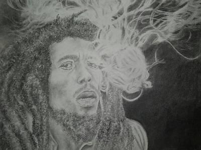 Deadlock Drawing - Bob Marley by Jose Espinosa