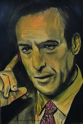 Drawing - Bob Odenkirk - Better Call Saul by Eric Dee