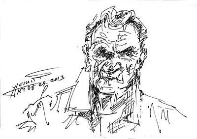 Sketch Drawing - bob by Ylli Haruni