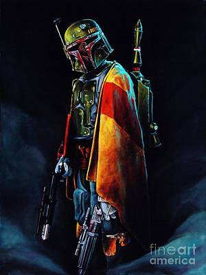 Boba Fett Digital Art - Boba Fett by Baltzgar