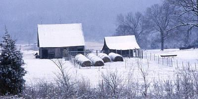 Bobby's Barn Print by Garry McMichael