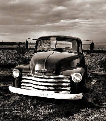 Photograph - Bob's Truck In Sepia by Julie Dant