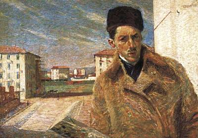 Boccioni, Umberto 1882-1916 Print by Everett