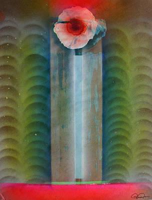 Boddhisatvas Emerging Print by Jeremy Johnson