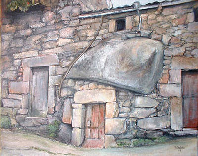Spain Painting - Bodega En Fermoselle by Tomas Castano