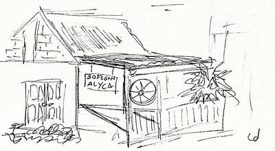 Bodegon Alyca In Torremolinos Original by Chani Demuijlder