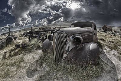 Igor Baranov Photograph - Bodie - Car by Igor Baranov