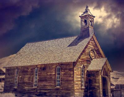 Oldzero Photograph - Bodie Church by Steve Benefiel