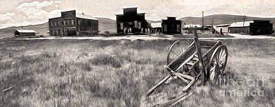 Bodie Ghost Town - 03 Print by Gregory Dyer