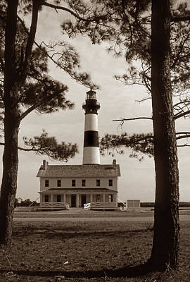 Of Lighthouses Photograph - Bodie Island Lighthouse by Skip Willits
