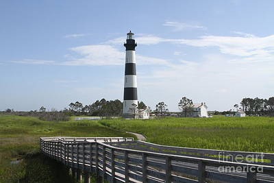 Seascape Photograph - Bodie Light Uncaged 4 by Cathy Lindsey
