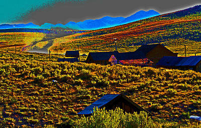 Bodie Sunset Print by Joseph Coulombe