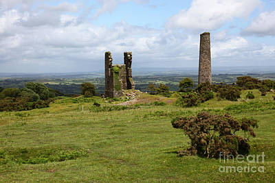 Bodmin Photograph - Bodmin Moor Cornwall England by James Brunker