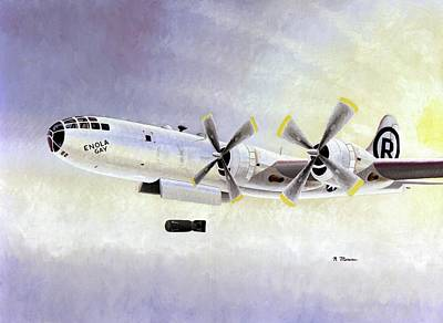 Boeing B-29 'enola Gay' Print by Us Air Force