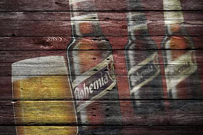 Handcrafted Photograph - Bohemia Beer by Joe Hamilton