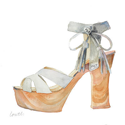 Stilettos Painting - Boho Stiletto by Lanie Loreth