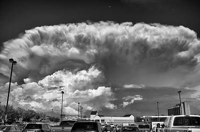 Boiling Sky Print by Trever Miller