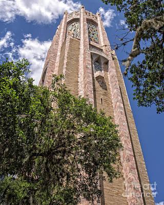 Bok Tower Lake Wales Florida Print by Edward Fielding