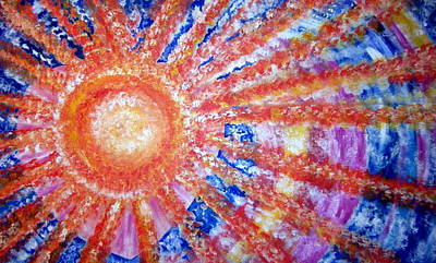 Openness Painting - Bold Awakening by Sister Rebecca Shinas