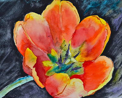Spring Bulbs Painting - Bold by Beverley Harper Tinsley