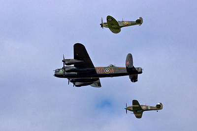 Spitfire Photograph - Bomber Command by Scott Carruthers