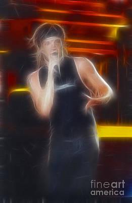 Jon Bon Jovi Photograph - Bon Jovi-jon-gc17-fractal by Gary Gingrich Galleries