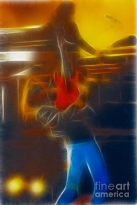 Bon Jovi-ritchie-gb2-fractal Print by Gary Gingrich Galleries