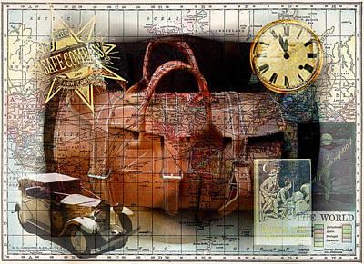 Bon Voyage Print by Sarah Vernon