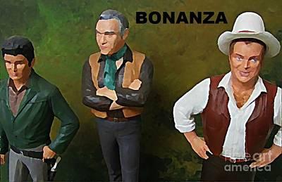 Model Kits Print featuring the painting Bonanza by John Malone