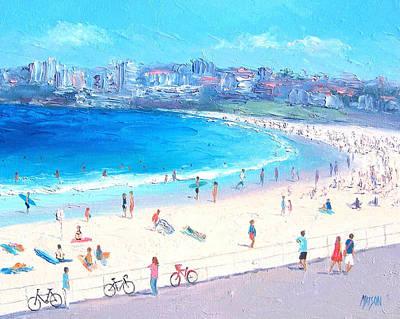 Seascape Painting - Bondi Summer by Jan Matson