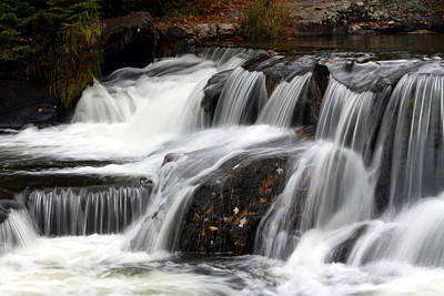 Michigan Waterfalls Photograph - Bonding With Nature by Heather Kenward