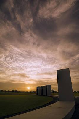 Portal Photograph - Bonfire Memorial by Joan Carroll