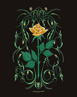 Bonnie's Bouquet Print by DeWayne Connot