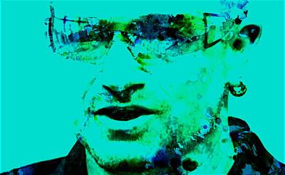 Bono Digital Art - Bono by Brian Reaves