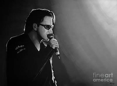 Bono Mixed Media - Bono by Meijering Manupix