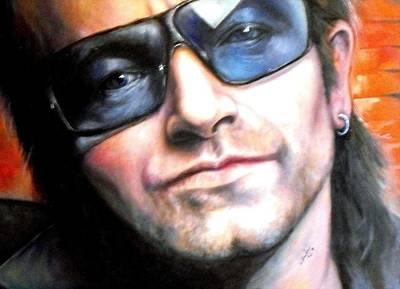 Bono Painting - Bono by William Ferguson