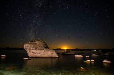 Bonsai Rock Lake Tahoe Print by Scott McGuire