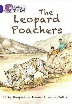 Poachers Painting - Book Cover From The Leopard Poachers by Donna Acheson-Juillet