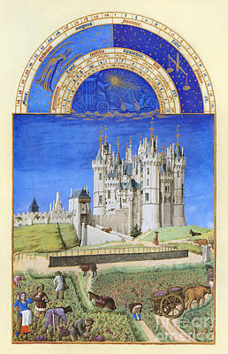 Book Of Hours: September Print by Granger