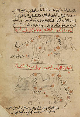 Muslim Painting - Book Of The Images Of The Fixed Stars by Celestial Images