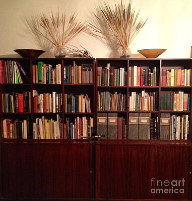 Bookcase In Brown Original by Diane Phelps