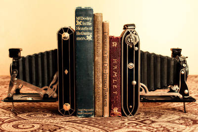 Kodak Photograph - Bookends by Jon Woodhams