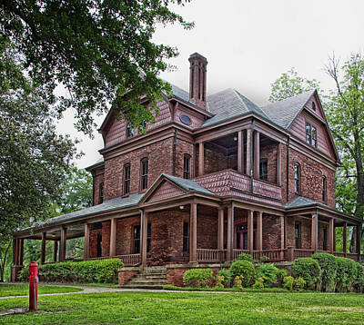 Booker T Washington Home - Tuskegee Alabama Print by Mountain Dreams