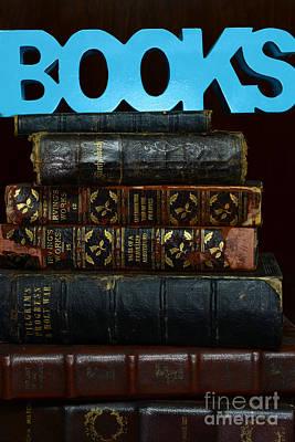 Books Print by Paul Ward