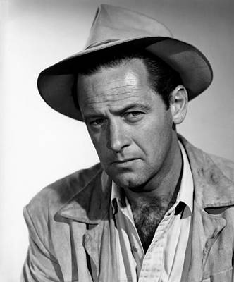 Boots Malone, William Holden, 1952 Print by Everett