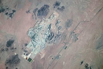 Us Open Photograph - Borax Mine by Nasa